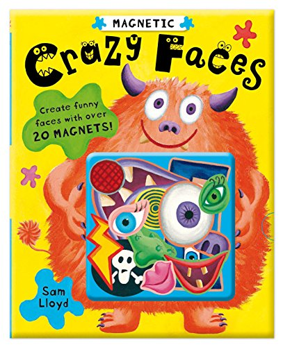 Magnetic Crazy Faces By Illustrated by Sam Lloyd