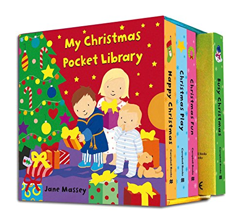 My Christmas Pocket Library By Illustrated by Jane Massey