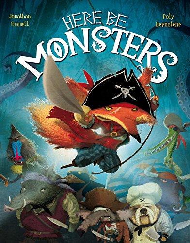 Here Be Monsters By Jonathan Emmett
