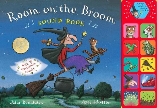 Room on the Broom Sound Book By Julia Donaldson