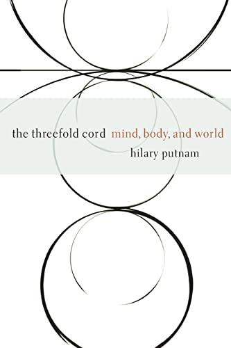 The Threefold Cord By Hilary Putnam