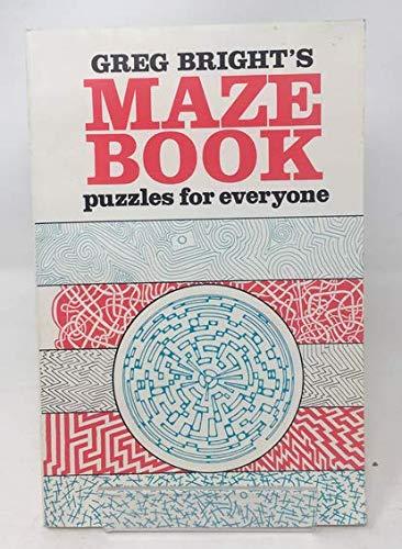 Maze Book By Greg Bright
