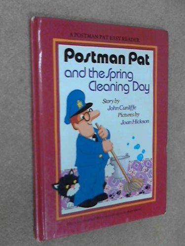 Postman Pat's Spring Cleaning Day By John Cunliffe