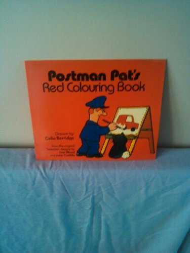 Postman Pat's Red Colouring Book By Illustrated by C. Berridge