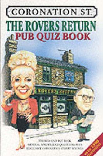 The Rovers Return Pub Quiz Book By Jo Kingston