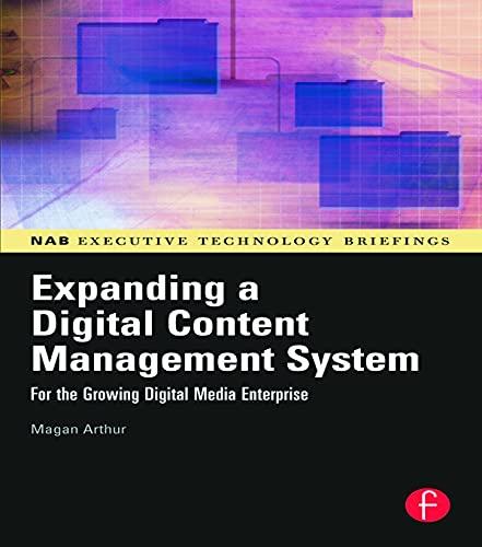 Expanding a Digital Content Management System By Magan H. Arthur