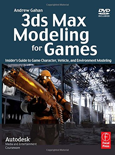 3ds Max Modeling for Games: Insider's Guide to Game Character, Vehicle, and Environment Modeling: Volume I By Andrew Gahan (is a leading industry authority in next-generation consoles and digital gaming. He is an expert in all gaming tools for commercial game development, including: 3ds Max, Maya, and Mudbox.)