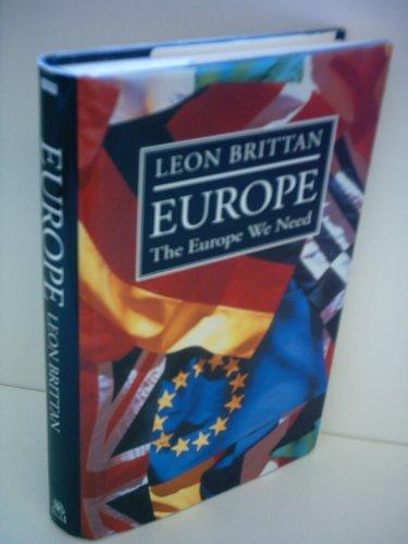 Europe By Leon Brittan