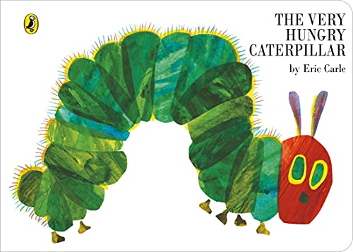 The Very Hungry Caterpillar [Board Book] By Eric Carle