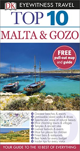 DK Eyewitness Top 10 Travel Guide: Malta & Gozo by Mary-Ann Gallagher