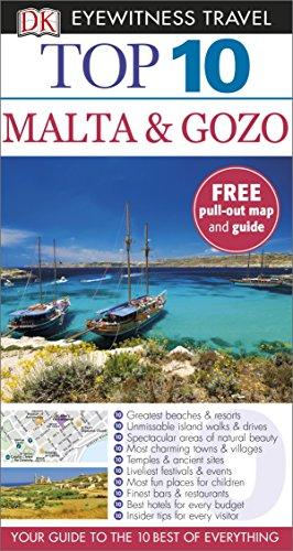Top 10 Malta and Gozo By DK Eyewitness