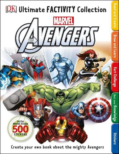 Marvel The Avengers Ultimate Factivity Collection By DK
