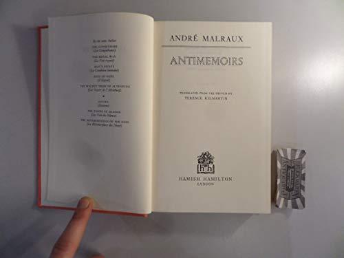 Antimemoirs par Andre Malraux