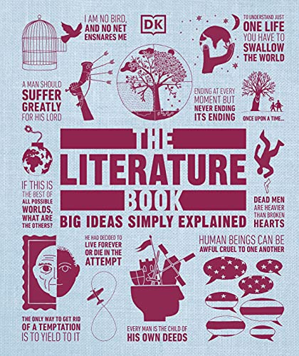 The Literature Book: Big Ideas Simply Explained By DK