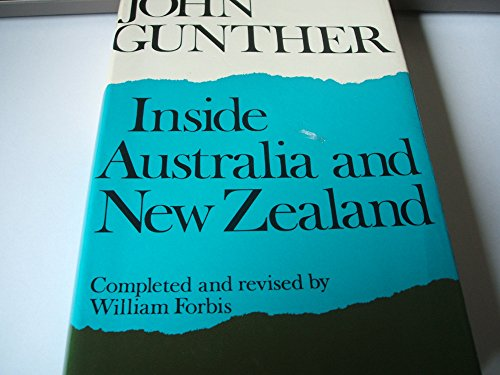 Inside Australia and New Zealand By John Gunther