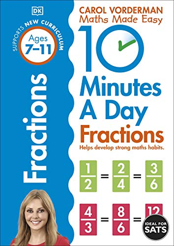 10 Minutes a Day Fractions By Carol Vorderman