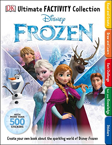 Disney Frozen: Ultimate Factivity Collection By DK