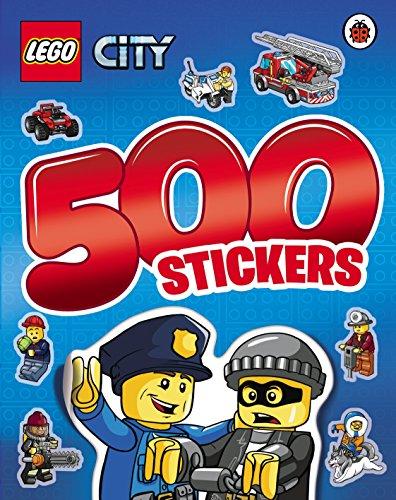 LEGO CITY: 500 Stickers Activity Book