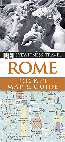Rome Pocket Map and Guide by DK