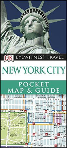 New York City Pocket Map and Guide by DK