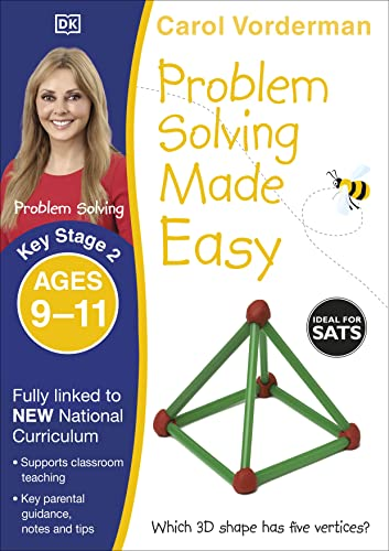 Problem Solving Made Easy Ages 9-11 Key Stage 2 By Carol Vorderman