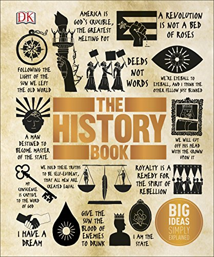 The History Book: Big Ideas Simply Explained By DK