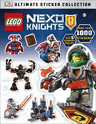 LEGO NEXO KNIGHTS Ultimate Sticker Collection By Emma Grange
