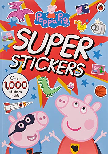 Peppa Pig Super Stickers Activity Book By Peppa Pig