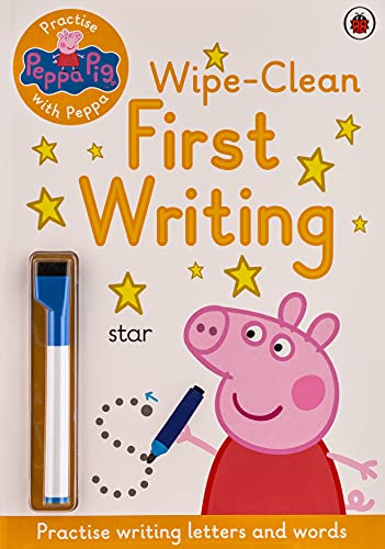 Peppa Pig: Practise with Peppa: Wipe-Clean First Writing By Peppa Pig