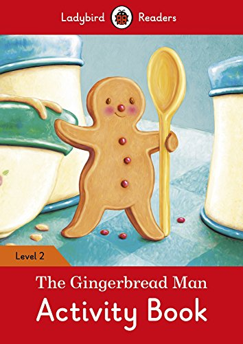 The Gingerbread Man Activity Book - Ladybird Readers Level 2 By Ladybird