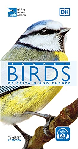 RSPB Pocket Birds of Britain and Europe By DK