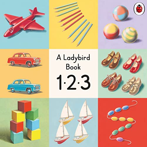123: A Ladybird Vintage Board Book By Ladybird