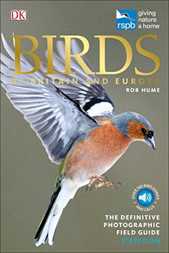 RSPB Birds of Britain and Europe By Rob Hume