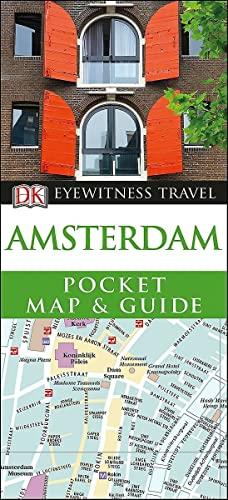DK Eyewitness Amsterdam Pocket Map and Guide By DK Eyewitness