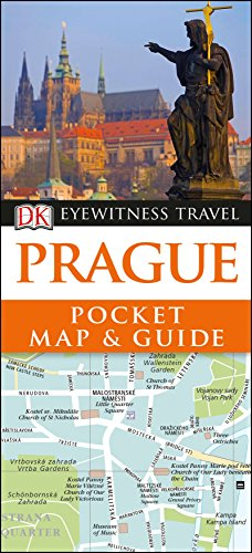 DK Eyewitness Prague Pocket Map and Guide By DK Eyewitness