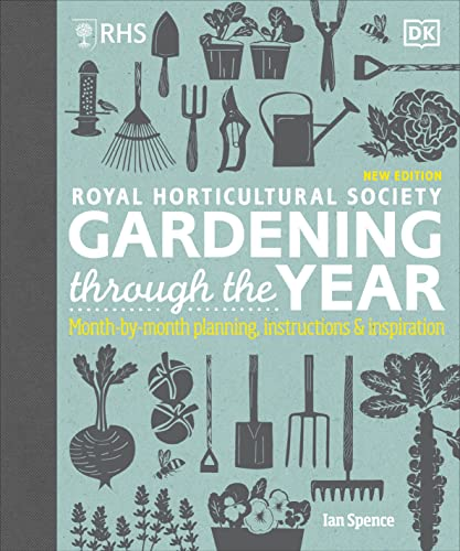 RHS Gardening Through the Year: Month-by-month Planning Instructions and Inspiration By Ian Spence