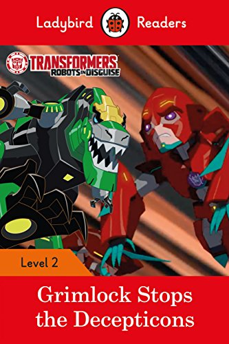 Transformers: Grimlock Stops the Decepticons - Ladybird Readers Level 2 By N