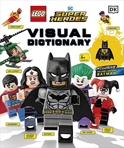 LEGO DC Comics Super Heroes Visual Dictionary By Elizabeth Dowsett