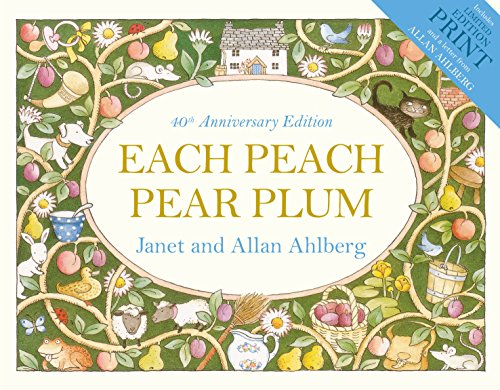 Each Peach Pear Plum von Janet Ahlberg