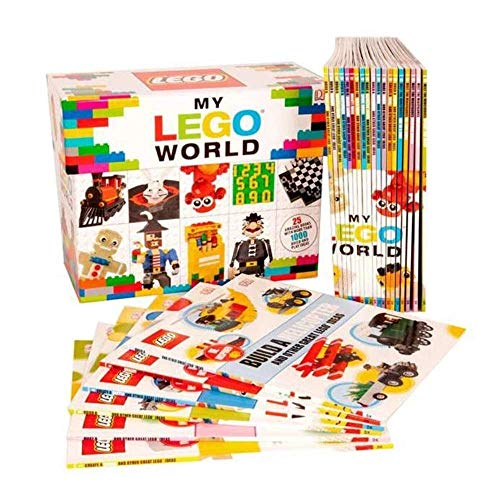 My LEGO World - 25 Books- Shrinkwrapped By Lego