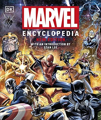 Marvel Encyclopedia New Edition By Stephen Wiacek