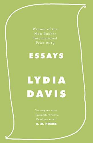 Essays By Lydia Davis