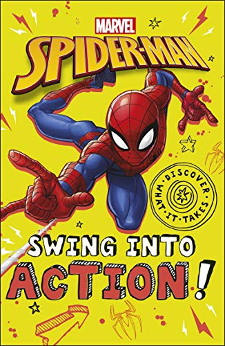 Marvel Spider-Man Swing into Action! By Shari Last