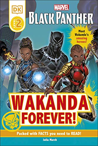 Marvel Black Panther Wakanda Forever! By Julia March
