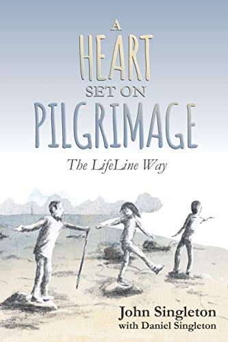 A-Heart-Set-on-Pilgrimage-by-Singleton-John-Book-The-Cheap-Fast-Free-Post