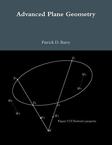 Advanced Plane Geometry By Patrick D. Barry