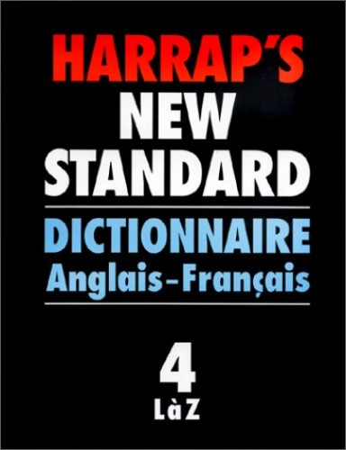 Harrap's Standard French and English Dictionary By Edited by J.E. Mansion