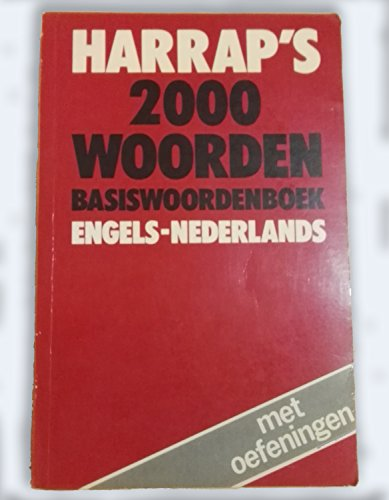 Harrap's Two Thousand Word English-Dutch Dictionary By P. H. Collin