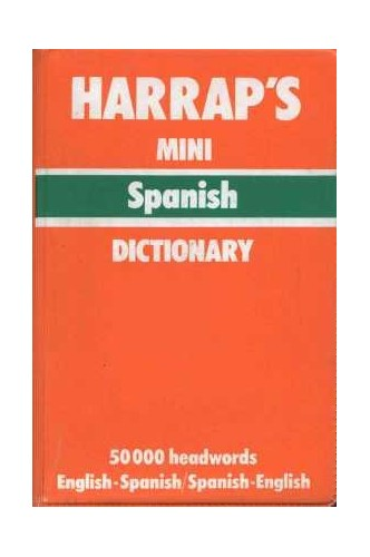 Mini Spanish English Dict PVC By unknown