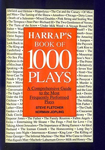 Harrap's Book of 1000 Plays By Steve Fletcher